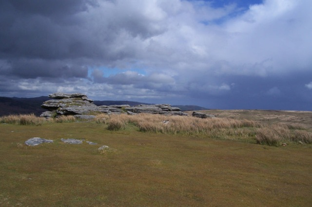 Coombestone Tor, April 2012 Dartmoor